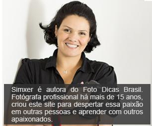 Simxer - autora do Foto Dicas Brasil