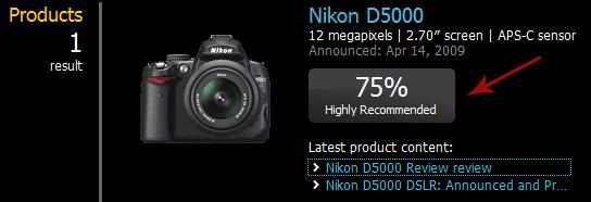 dpreview resultadoD5000ParaReview Nikon ou Canon? Câmera profissional, ou semi profissional? Aprenda a decidir você mesmo!