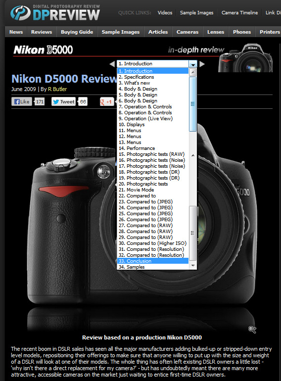 dpreviewpNikonD5000ReviewFinal Nikon ou Canon? Câmera profissional, ou semi profissional? Aprenda a decidir você mesmo!