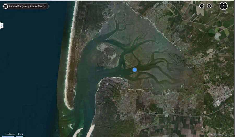 """""""The Arcachon Bay"""" A Baía de Arcachon Imagens lindas feitas por uma ferramenta?! Update"""