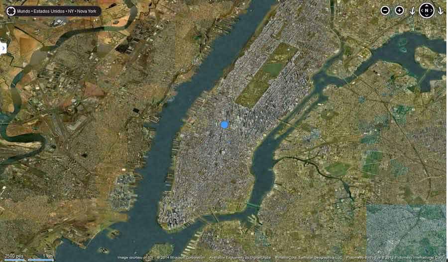 Manhattan Imagens lindas feitas por uma ferramenta?! Update