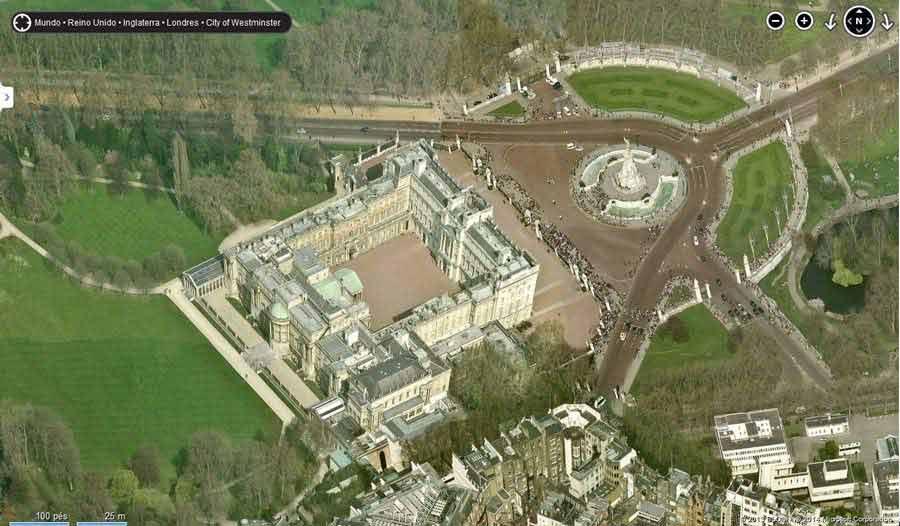 Palácio de Buckingham Reino Unido Imagens lindas feitas por uma ferramenta?! Update