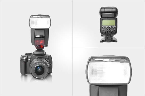 dedicated flash artigo Tipos de flash de câmera