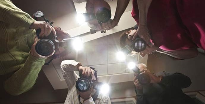 Tipos de flash de câmera