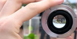 Lente Nikon, lente Canon. Lentes o quê