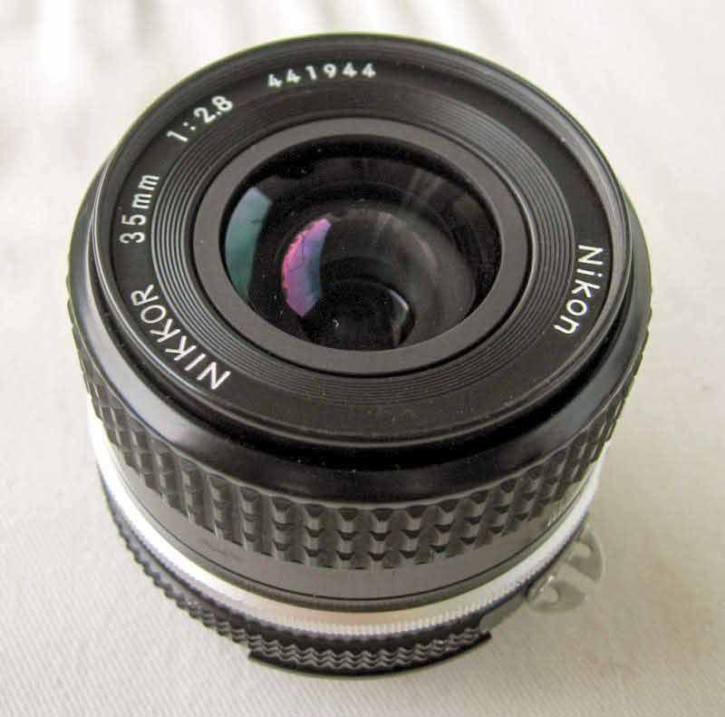 grande angular2 Lente Nikon, lente Canon. Lentes o quê?