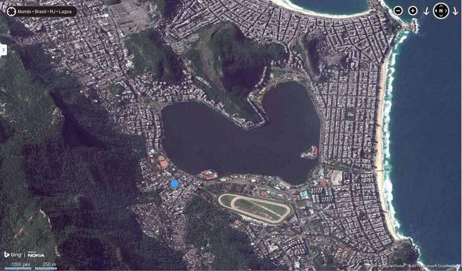 lagoa Rodrigo de freitas Imagens lindas feitas por uma ferramenta?! Update