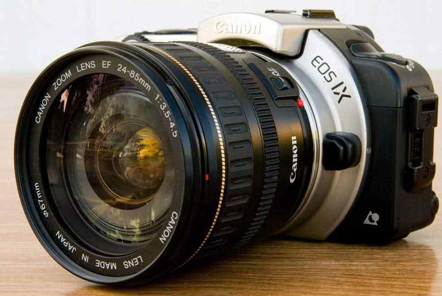 lente 24 85mm Lente Nikon, lente Canon. Lentes o quê?