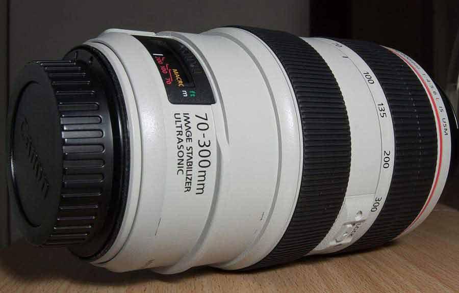 lente zoom - 70-300mm