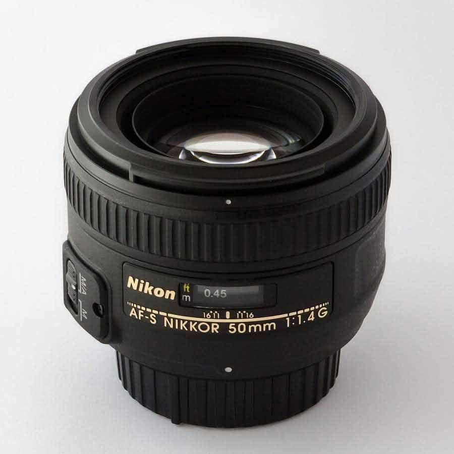 Lente Nikon f1.4