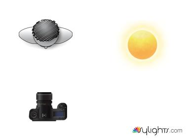 split lighting by Darlene Hildebrandt artigo Seis Padrões de iluminação de retrato que todo fotógrafo deve conhecer