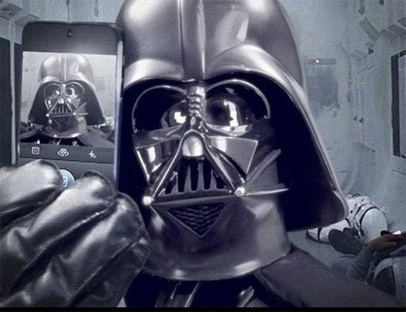 DarthVader Selfie perfeita   Dicas pra você fazer a sua!