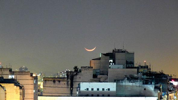 luaprédios Lua, como fotografar?