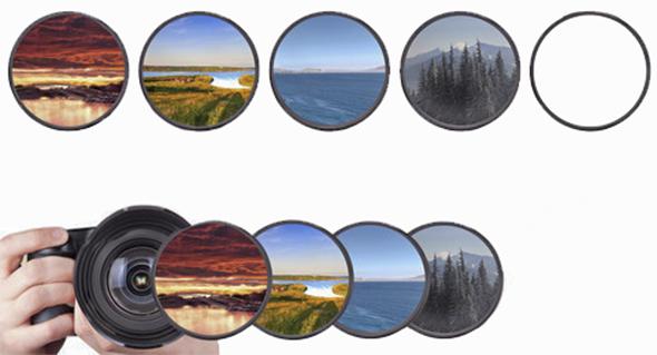 variosfiltros Filtros fotográficos, o que são e pra que servem?