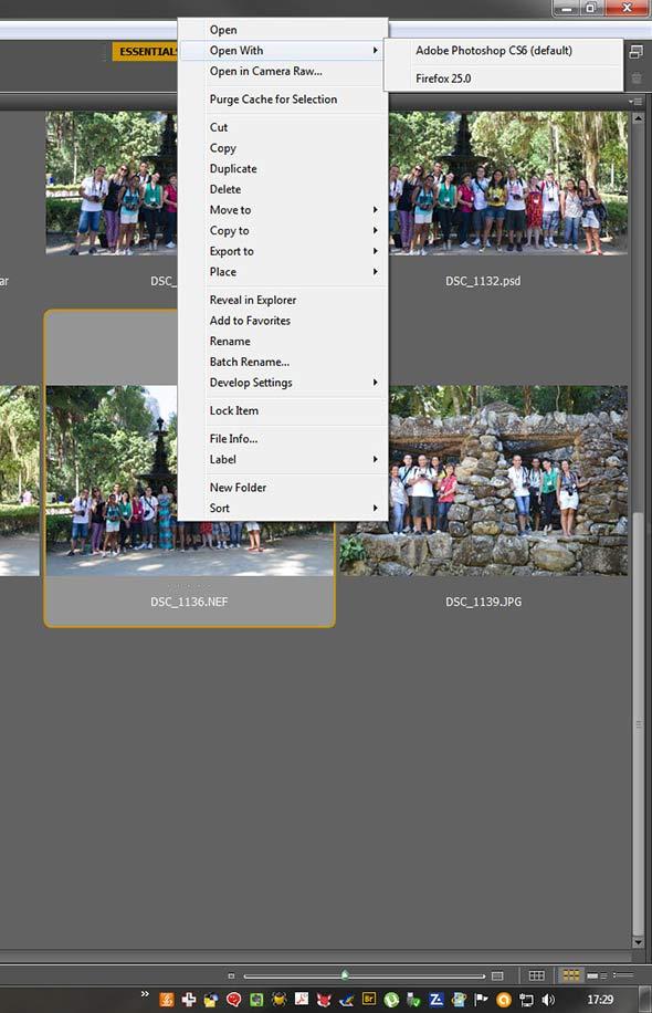 Abrindo imagem Raw Depois de tirar a foto, eu faço o que? Workflow (fluxo de trabalho)