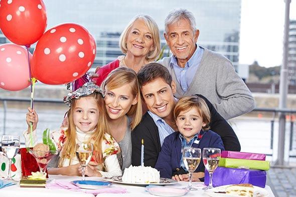 familia Festa infantil, como fotografar?