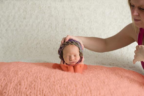 Um aviso importante sobre segurança na fotografia Newborn - Série 4/4