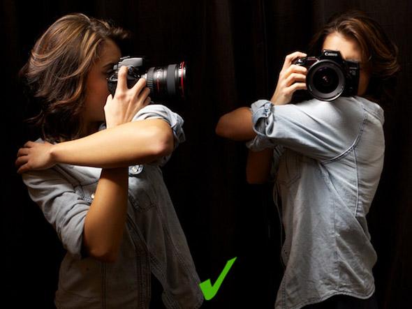 3 grip Como Segurar uma Câmera e Tirar Fotos Mais Precisas