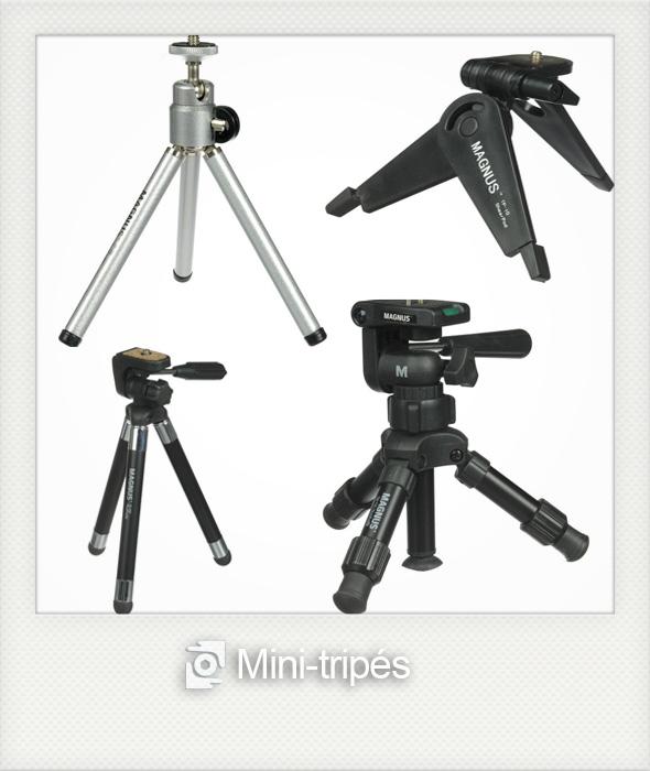 minitripeFR1 Tripés   tipos e usos