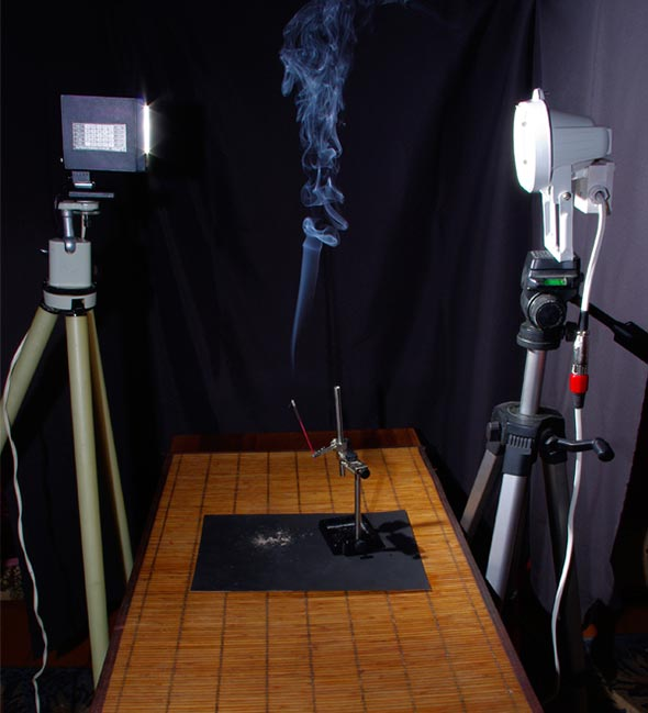 06 Como tirar foto de fumaça