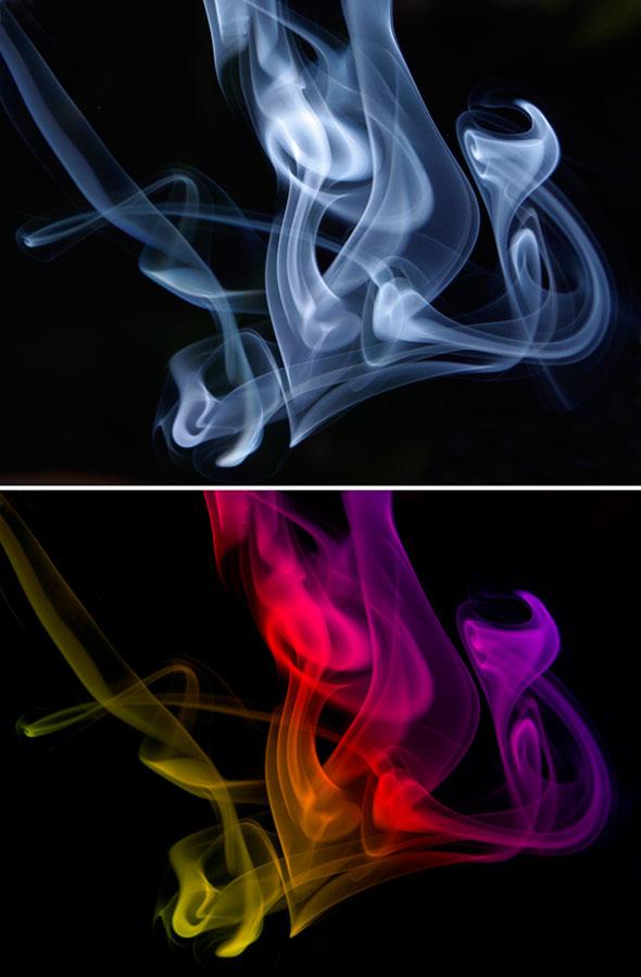 09 Como tirar foto de fumaça
