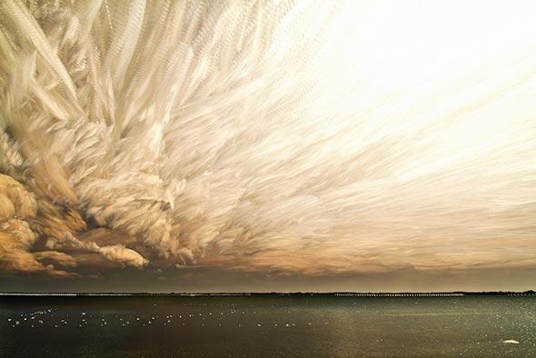 céu em destaque