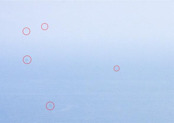 Exemplo de sensor sujo Artigo 10 segredos para fotos mais nítidas 10 segredos para fotos mais nítidas