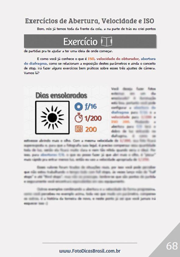 ExercicioAberturaVelocidadeISO Ebook Fotometria Simples – Você no controle da Luz