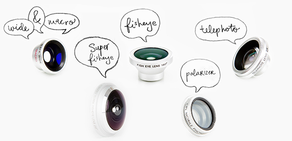 lentes para celulares Gadgets Fotográficos Gadgets Fotográficos
