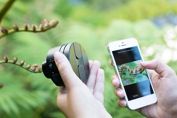 sony smart lens qx10 qx100 Gadgets Fotográficos Gadgets Fotográficos