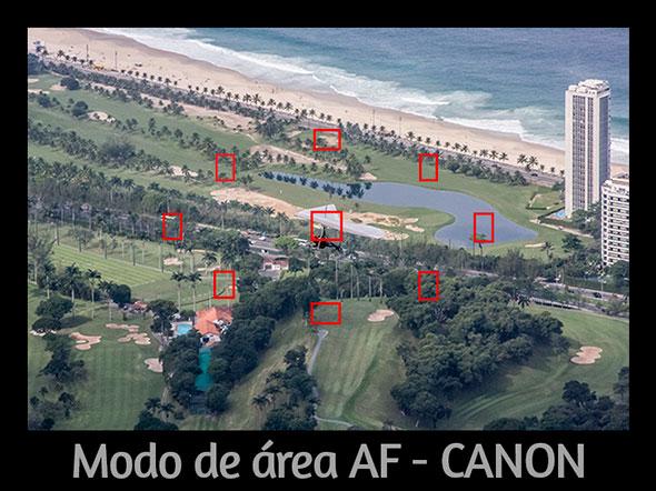 Modo de área AF Canon Foto do Artigo Qual o segredo para desfocar o fundo de uma foto Qual o segredo para desfocar o fundo de uma foto?