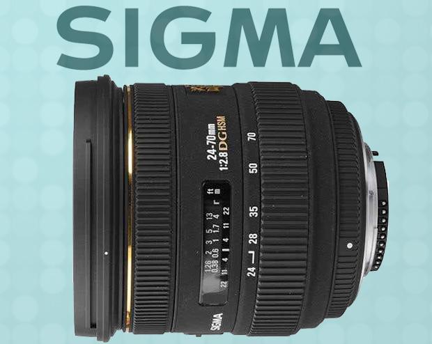 SIGMA do Artigo O que significa USM AF DX EF S USM, AF, DX, EF S... Afinal, o que significam estas siglas nas lentes?