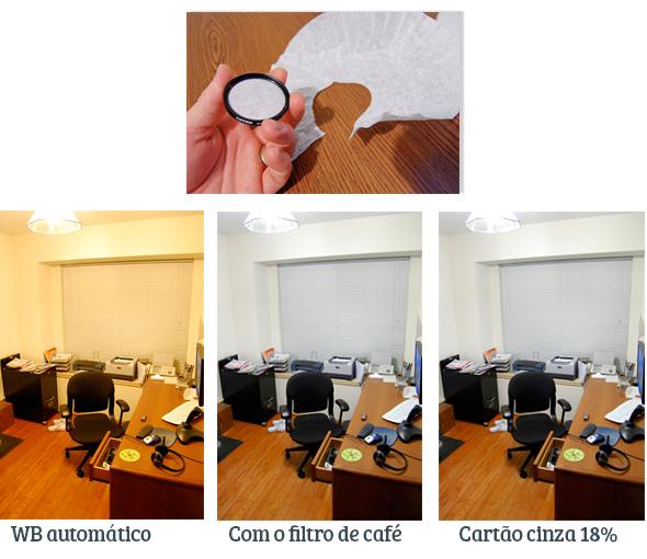 WB com Filtro de café do Artigo Faça você mesmo, DIY ou gambiarras fotográficas - Foto Dicas Brasil