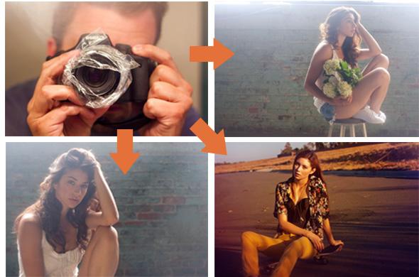 efeito Nevo David Jesse McGrady do Artigo Faça você mesmo DIY ou gambiarras fotográficas Foto Dicas Brasil Faça você mesmo, DIY ou gambiarras fotográficas