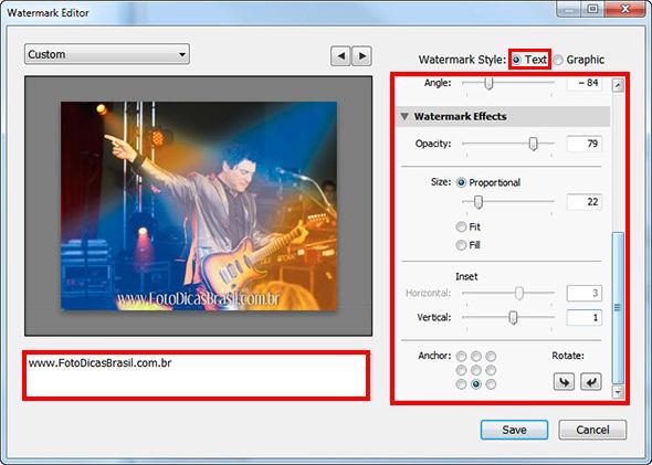 34ª imagem do Artigo Como inserir uma marca dágua em sua foto Como inserir uma marca d´água nas suas fotos