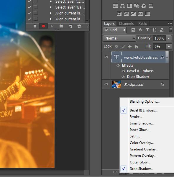 6ª imagem do Artigo Como inserir uma marca dágua em sua foto Como inserir uma marca d´água nas suas fotos