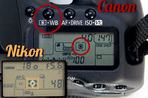 cameras Artigo Modos de medição Modos de medição