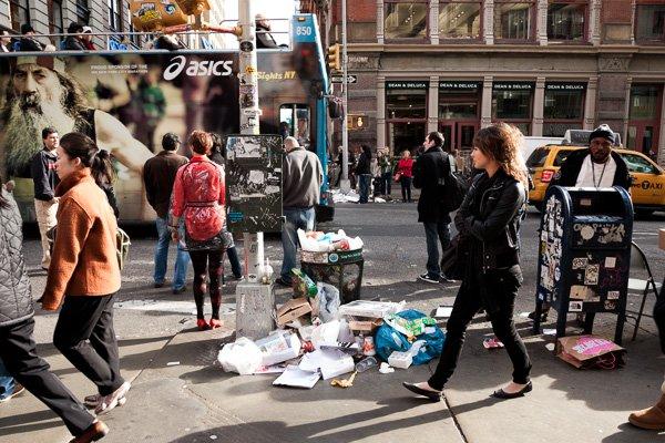 Lixo, SoHo, NYC.
