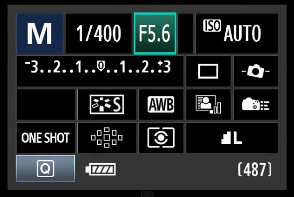 11BotaoQ Abertura O Botão Q – O Que Todo Fotógrafo Com Uma Canon DSLR Precisa Saber