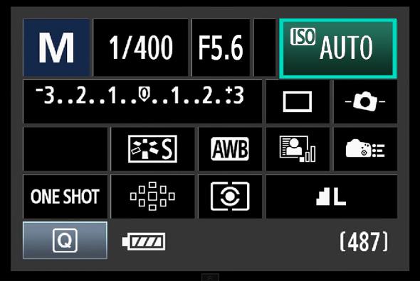 Painel de Acesso Rápido do Botão Q - ISO