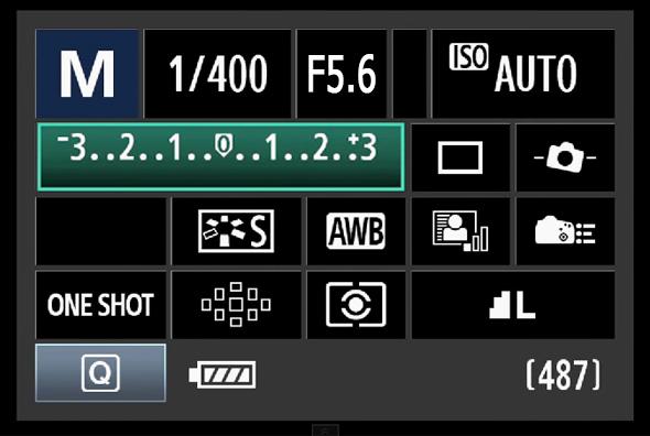 13BotaoQ Compensação de Exposição O Botão Q – O Que Todo Fotógrafo Com Uma Canon DSLR Precisa Saber