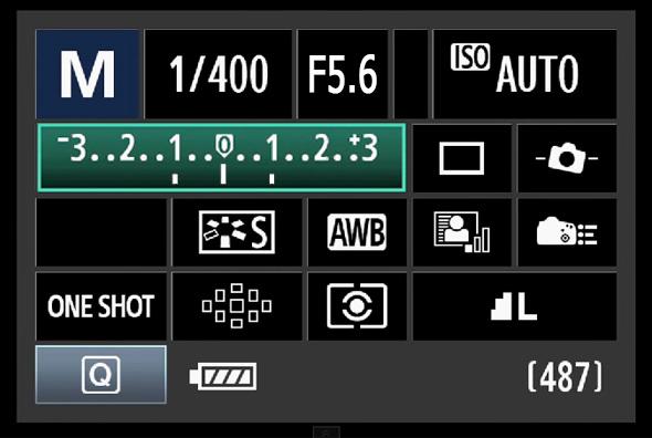 13BotaoQ Compensação de Exposição1 O Botão Q – O Que Todo Fotógrafo Com Uma Canon DSLR Precisa Saber