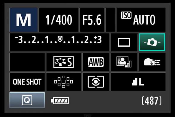 Painel de Acesso Rápido do Botão Q - Nível Eletrônico