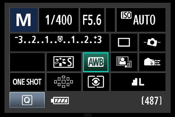 17BotaoQ Balanço de Branco O Botão Q – O Que Todo Fotógrafo Com Uma Canon DSLR Precisa Saber