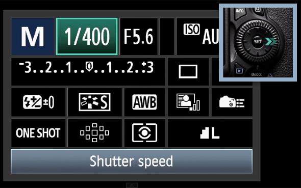 2BotaoQ O Botão Q – O Que Todo Fotógrafo Com Uma Canon DSLR Precisa Saber