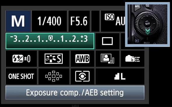 3BotaoQ O Botão Q – O Que Todo Fotógrafo Com Uma Canon DSLR Precisa Saber
