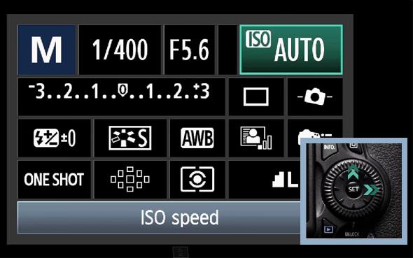 4BotaoQ O Botão Q – O Que Todo Fotógrafo Com Uma Canon DSLR Precisa Saber