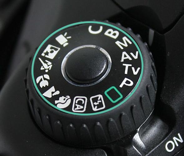 Seletor de Modos de Cena - Canon 60D
