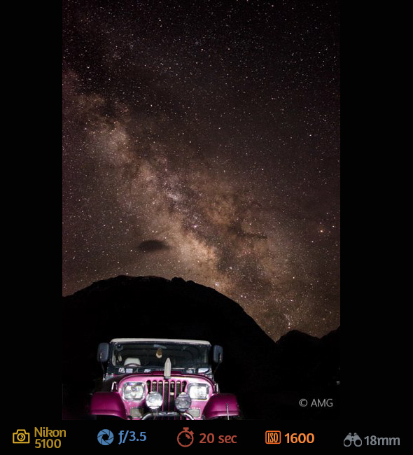 8ª imagem artigo fotografar estrelas Como Fotografar Estrelas Usando a Lente do Kit