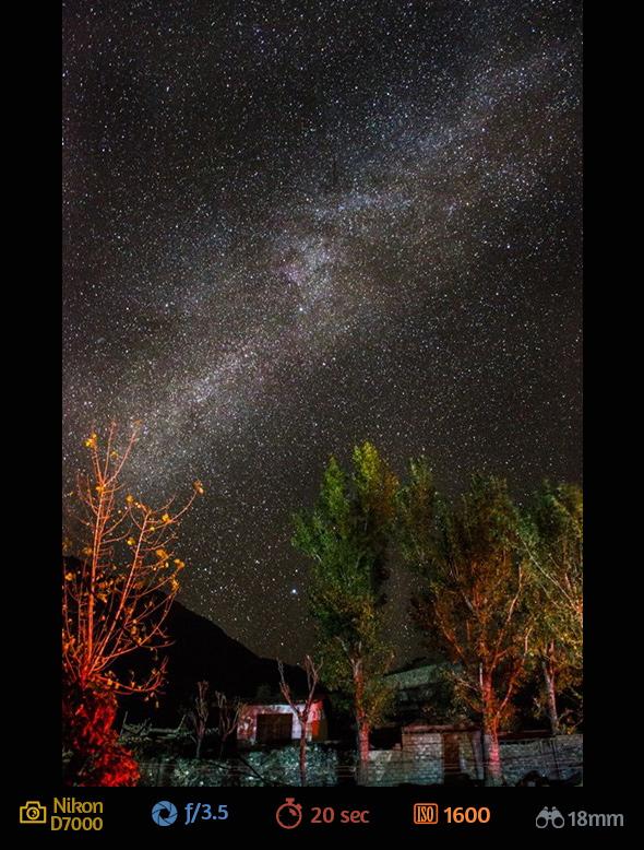 9ª imagem artigo fotografar estrelas Como Fotografar Estrelas Usando a Lente do Kit